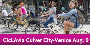 CicLAvia – Culver City Meets Venice, Aug. 9