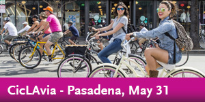 CicLAvia - Pasadena, May 31 - Destination Discount