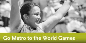 Go Metro to the LA2015 World Games