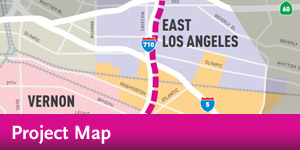 I-710 - Project Map