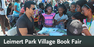 Leimert Park Village Book Fair, Aug. 1
