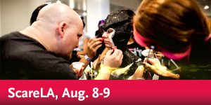 ScareLA at the Pasadena Convention Center, Aug. 8-9
