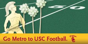 Go Metro to USC Football