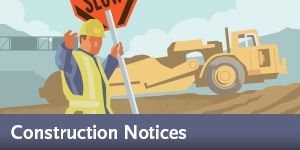 Purple Line - Construction Notices