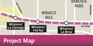 Purple Line Extension - Project Map