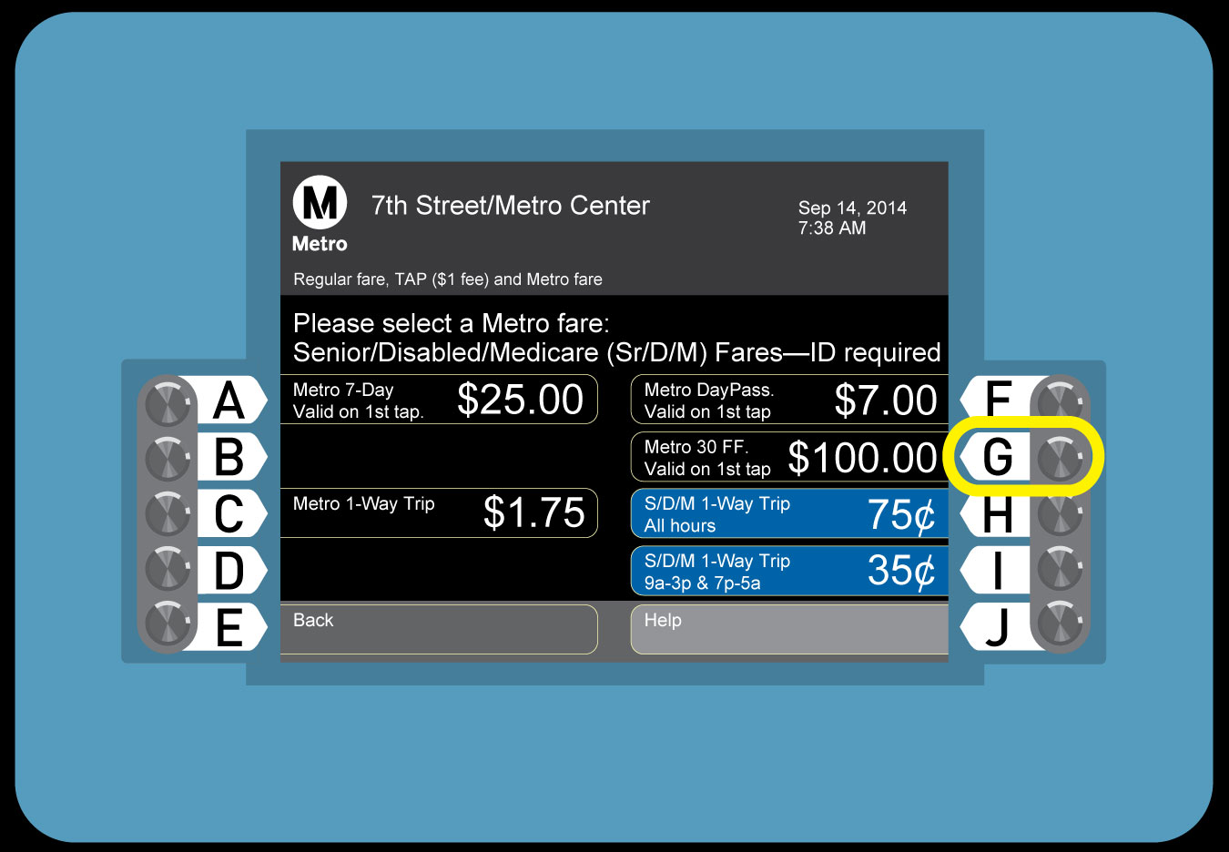 how to buy metro pass for presto card