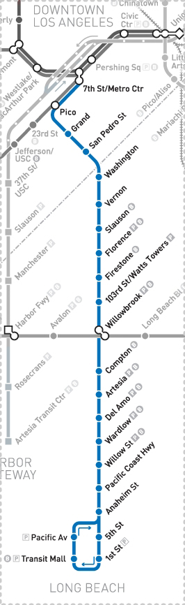 LA Metro Home | Maps & Timetables