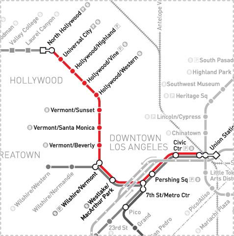 LA Metro Home  Maps Amp Timetables