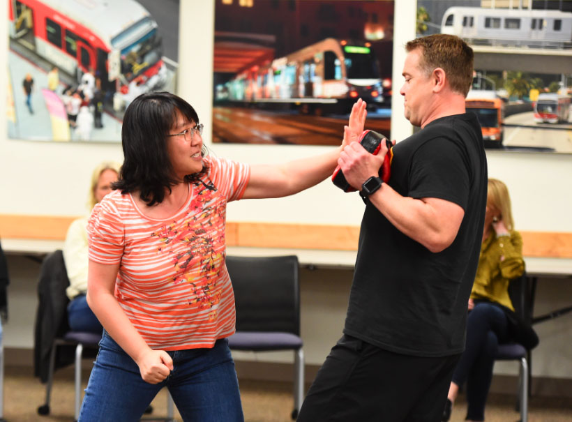 WGGC Hosted Self-Defense Classes in Recognition of Denim Day - April 24, 2019