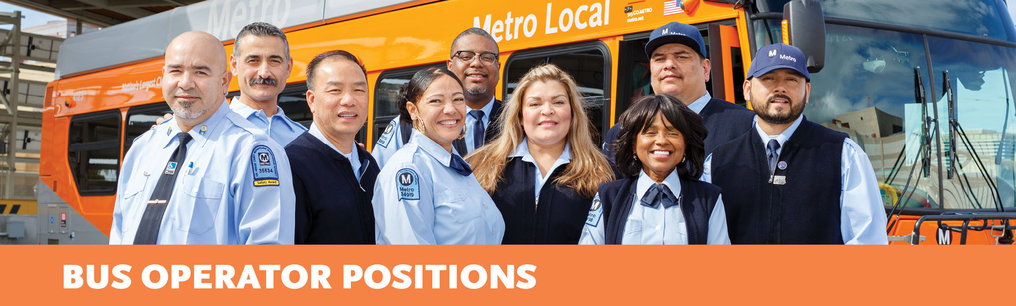 Bus Operator Positions