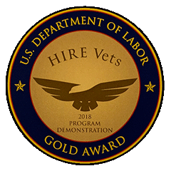 HIREVets.gov HIRE Vets Medallion Program - Recognizing employers who HIRE veterans - version 7