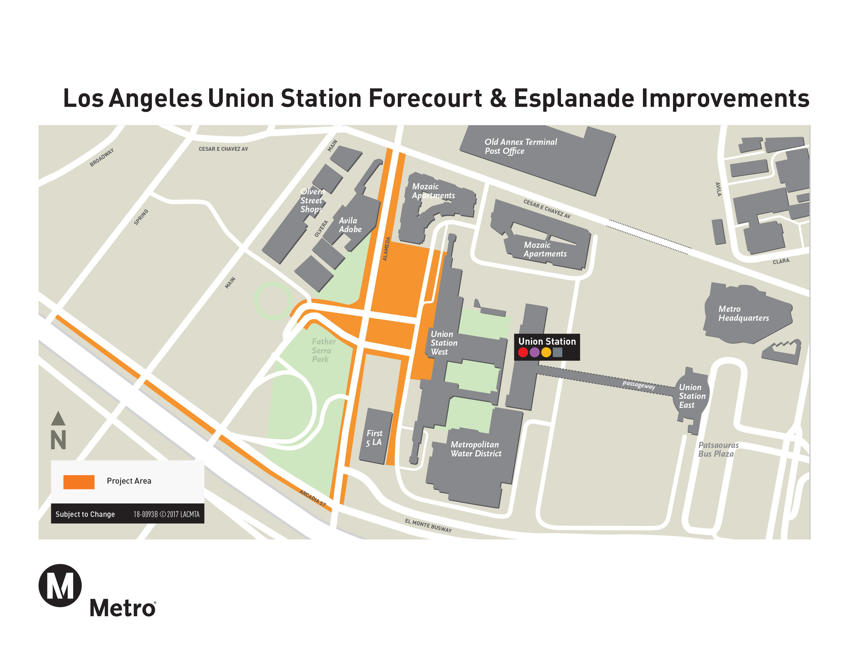 Union Station | LA Union Station Forecourt and Esplanade Improvements