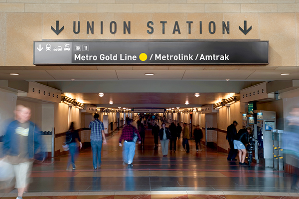 Union station for Short term parking at lax