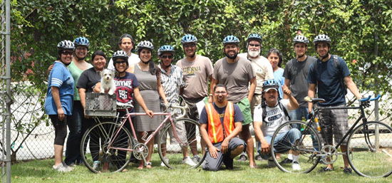 Bicycling for Beginners group picture