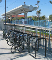 photo of Bicycle racks
