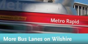 Wilshire BRT More Bus Lanes
