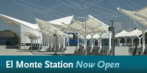 El Monte Station - Now Open