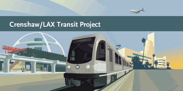 Crenshaw/LAX Transit Project information