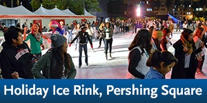 Holiday Ice Rink Pershing Square