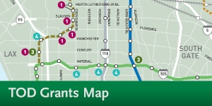 TOD Planning Grant Map