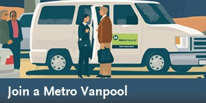 Metro Vanpool Program - Help your company's bottom line