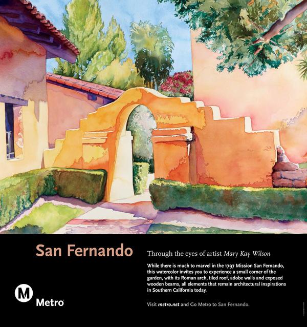 San Fernando Rail Poster
