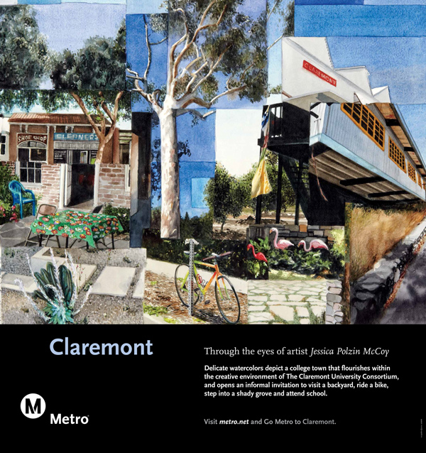 Claremont Rail Poster