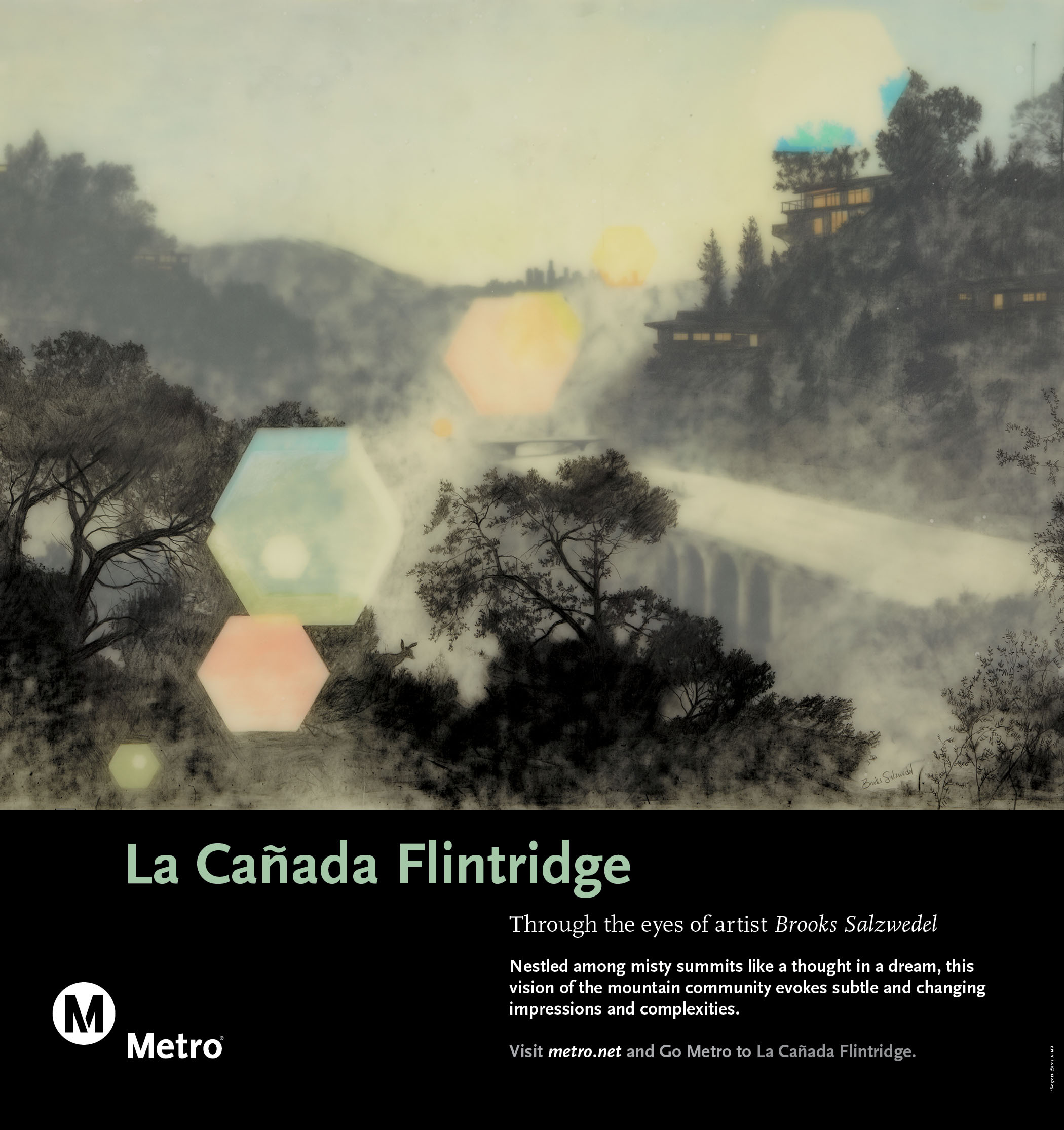 La Cañada/Flintridge Rail Poster