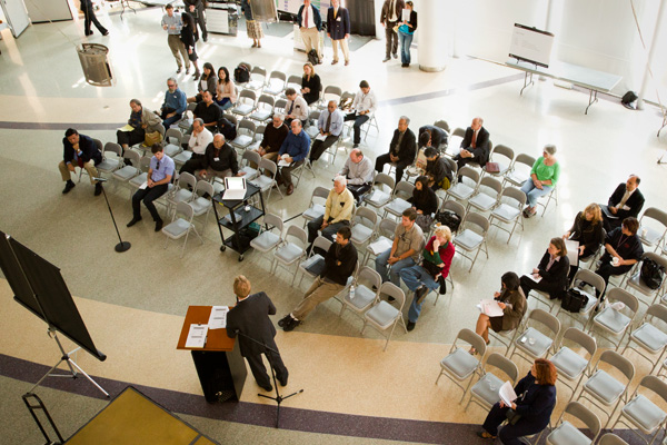 <p>Regional Connector Community Update Meeting held at the Japanese  American National  Museum located in Little Tokyo.</p>