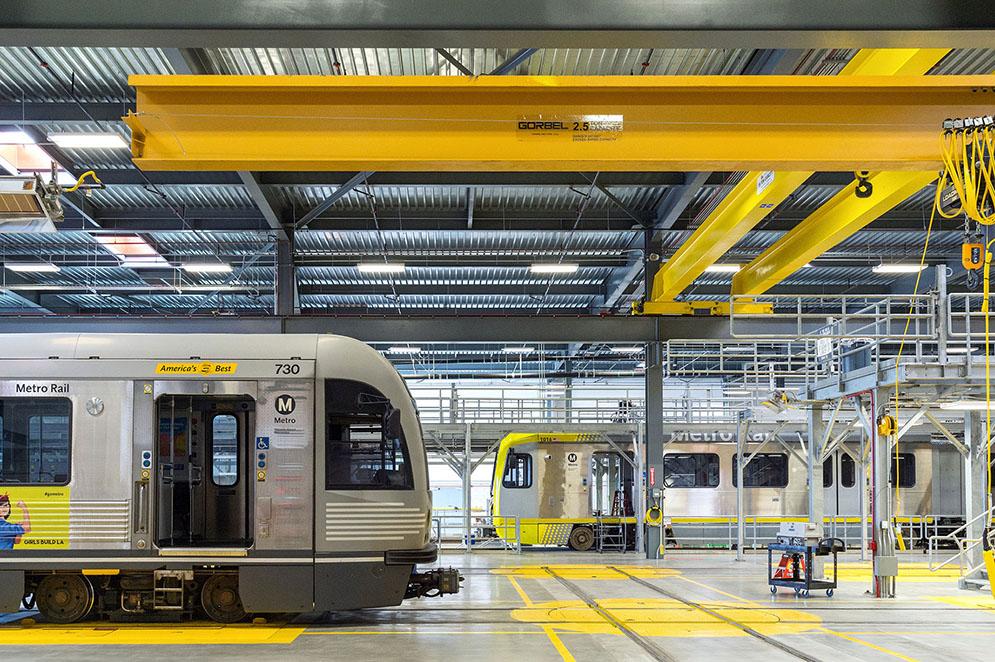 Metro light rail maintenance facility