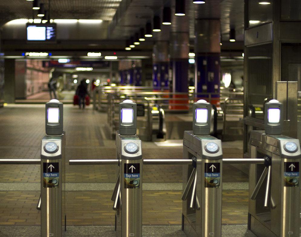 Subway turnstiles