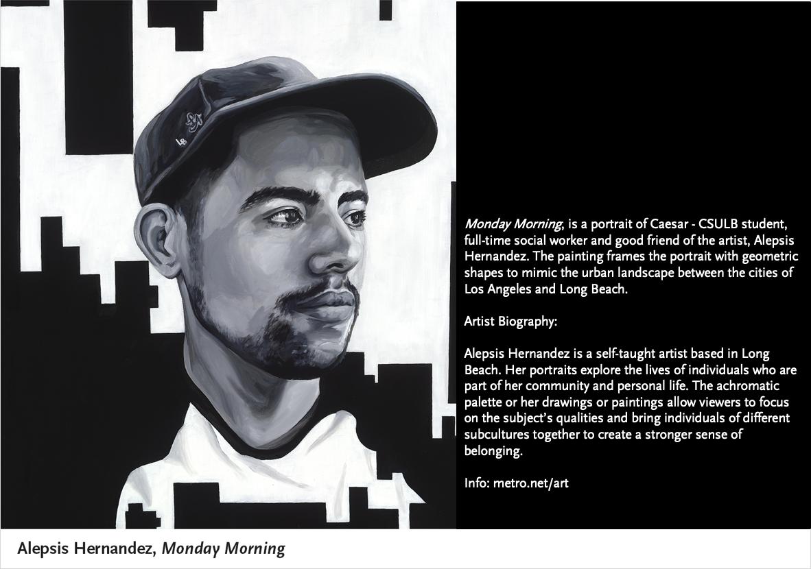 Monday Morning, Alepsis Hernandez