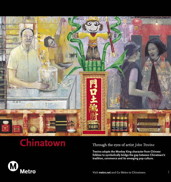 Chinatown Railcard Poster