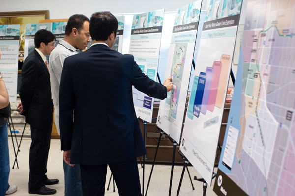 <p>Metro will continue to engage the public throughout the Draft Environmental Impact Statement/Draft Environmental Impact Report (Draft EIS/EIR) phase.</p>