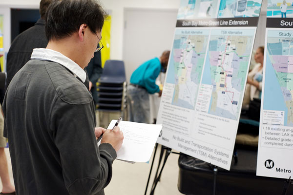 Metro is conducting an environmental review of the Green Line Extension to Torrance.