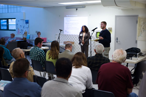 More than 200 people attended the meetings, and many of you have already provided your input.