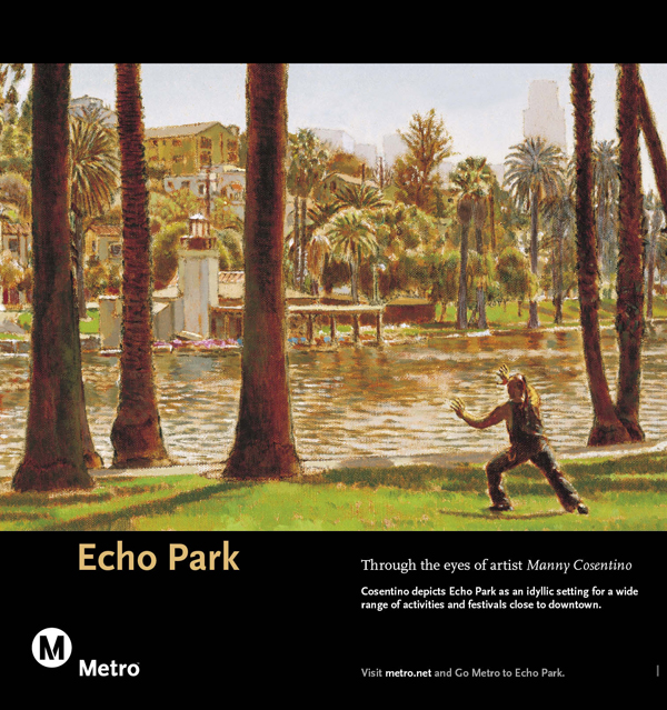 Echo Park Railcard Poster