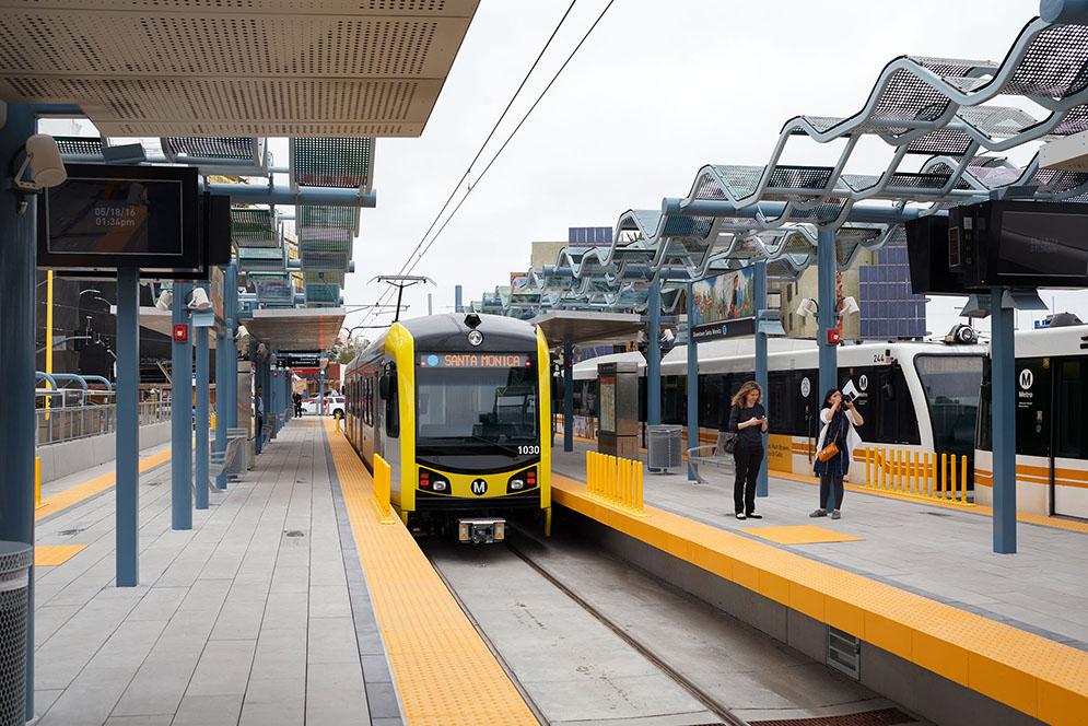 Downtown Santa Monica Station