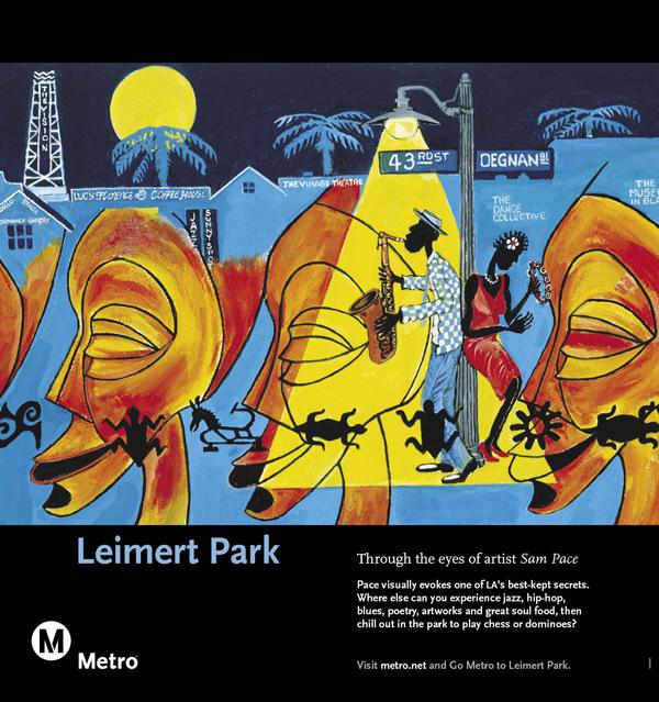 Leimert Park Railcard Poster