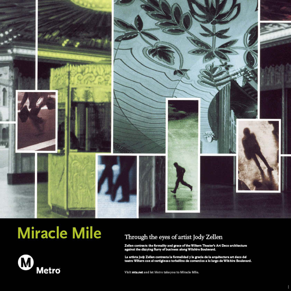 Miracle Mile Railcard Poster