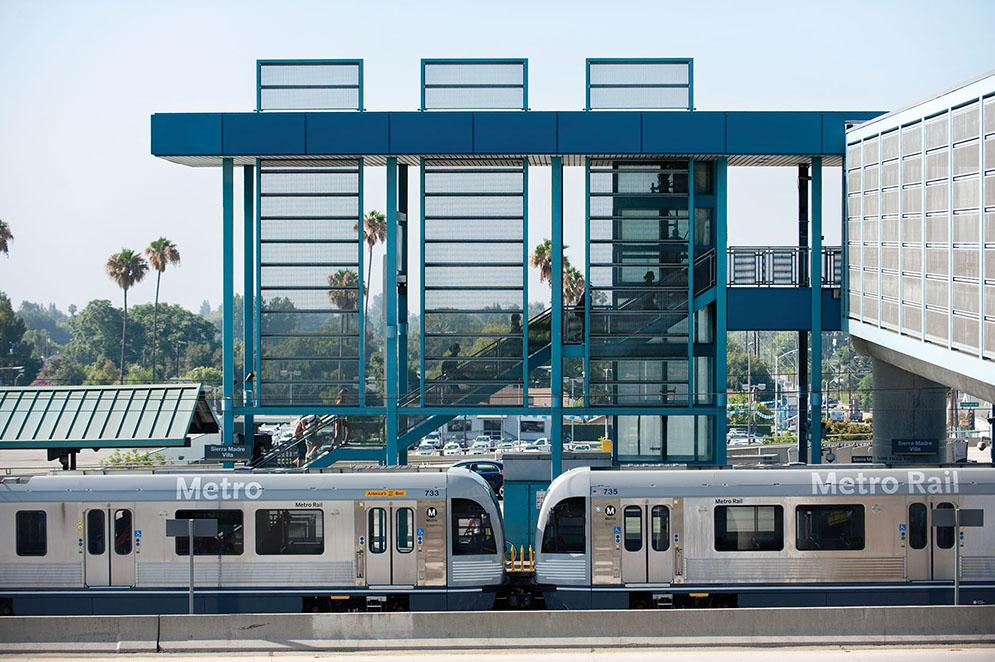 Sierra Madre Villa Station