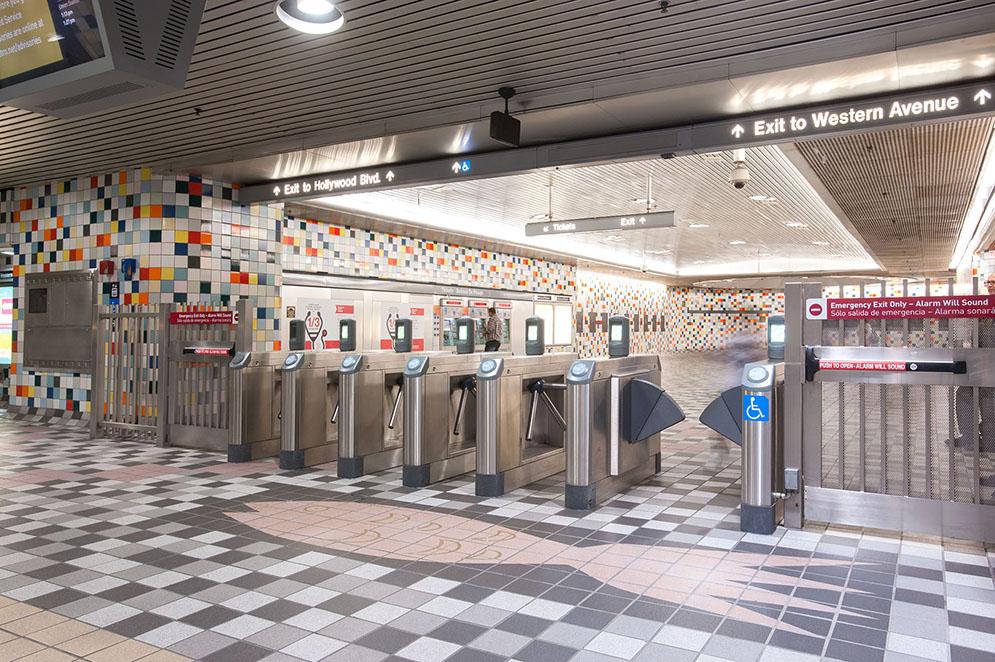 Hollywood/Western Station