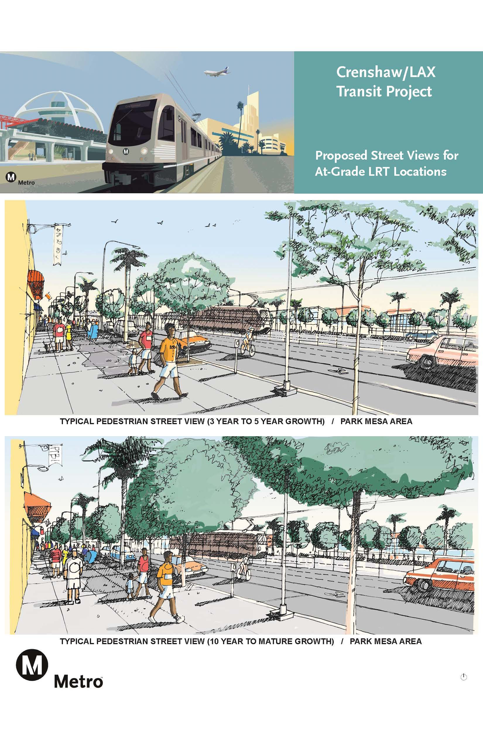 Park Mesa Heights Roadway Rendering