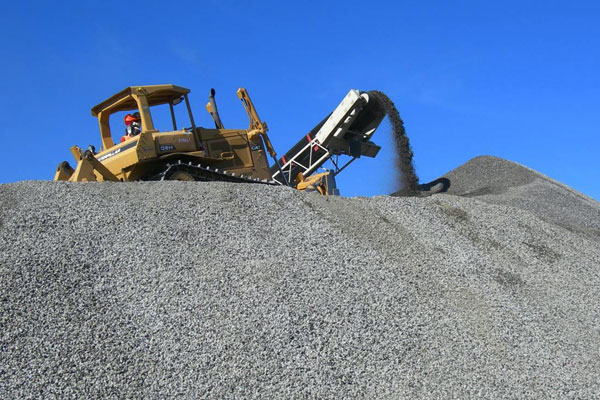 <p>Aggregate base from recycled asphalt and concrete</p>
