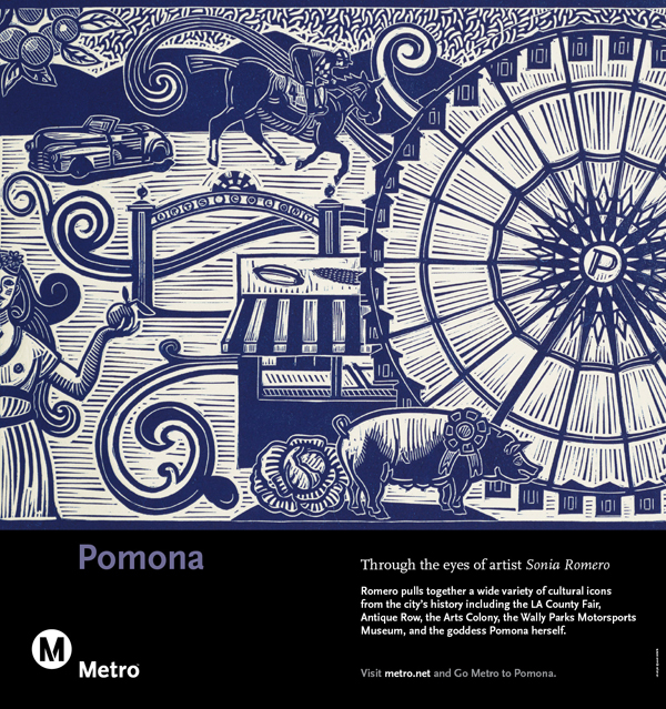 Pomona Railcard Poster