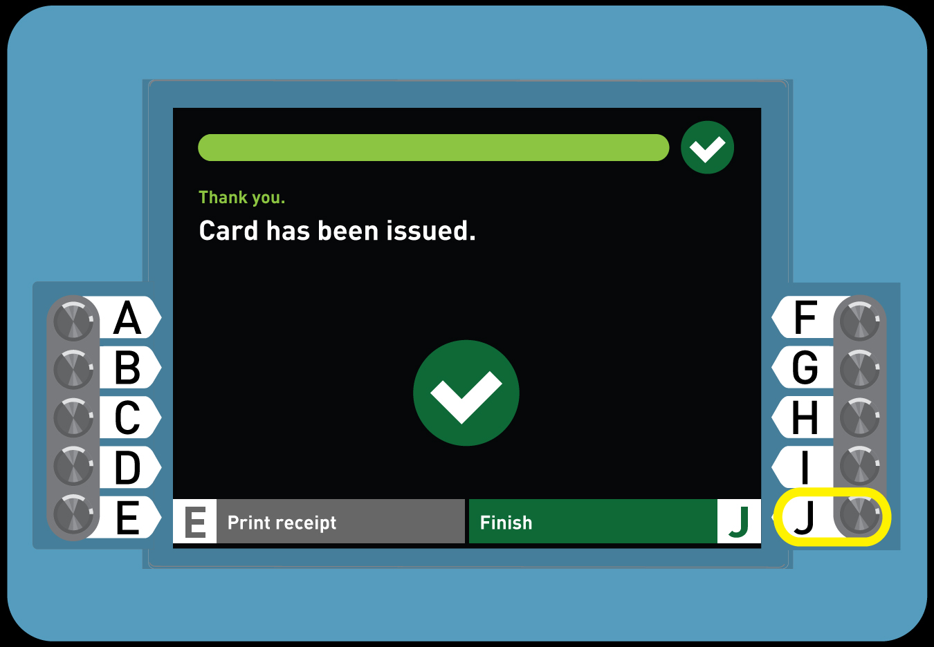 <p>7. Buy a Regular TAP card with Stored Value</p>