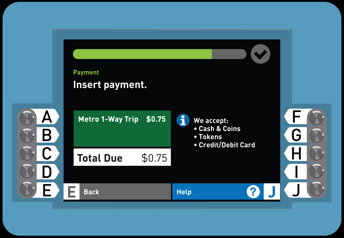 6. How to Load Senior TAP card with 1-Way Fare