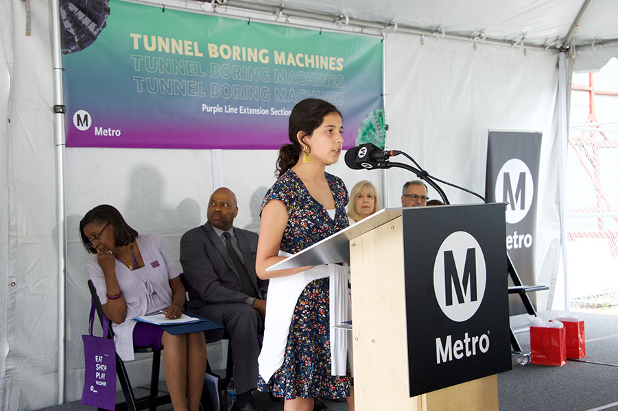 Section 2 Tunnel Boring Machine Unveiling Ceremony (June 2019) A