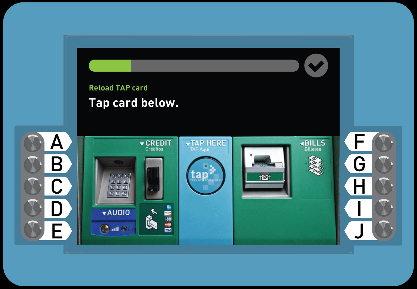 3. Buy a Senior TAP card with Stored Value