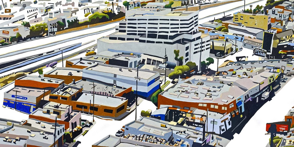 <p>This is one of eight art panels created by artist Susan Logoreci for Expo/Sepulveda Station</p>